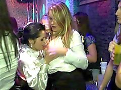 Euro party amateurs jerking and sucking cock