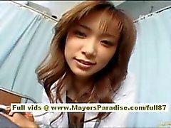 Risa Kasumi Asian hoitaja on ottaa helvetti osapuoli