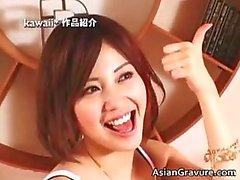 Mooie aziatische meisjes met intense part2