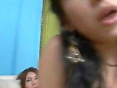 Brunette трансов не принимали Vanesa и Мелани дарим друг другу Оральный а было горячей анальный пол