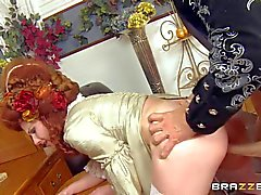 Vruca James gets nailed by Johnny Sins