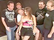 Hot Young Wife Gangbanged by Dirty D