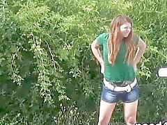 Pissing video compilation of sexy teen amateurs