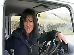 British Slut LB Fucks Stranger In Van