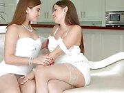 Morning Chill by Sapphic Erotica - Evalina Darling and Diana Dolce lesbians
