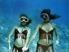 vintage mjuk erotik ( undervattens striptease )
