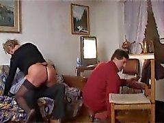 Amateur mature BBW houdt van dick