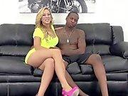 Webcam babe Cherie Deville interracial fucks