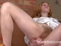 Eating has always turned on hairy girl Krista