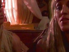 Цифровой милашка площадки Джесси Джейн с Джанин На финальной сцены Пиратах 1