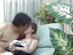 Asian porrfilm i Kink hammare ansluter hård en våt bullen