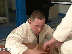 Treino de Judo