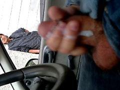 Masturbando en la calle