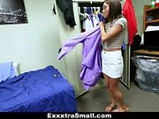 ExxxtraSmall - Cute College Teen Rides Huge Shlong