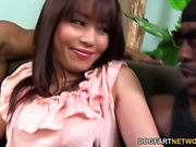Marica Hase squirts while DP'd by Black Cocks