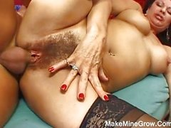 Hot MILF has young cock fever