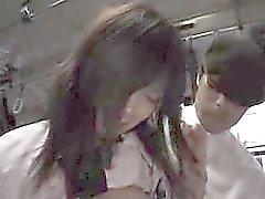 cuties asiatici ottengono baciato, indicano spagnoletta come pure qualche buon di U