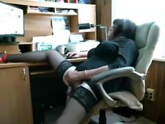 Соло гей мастурбация в офисе