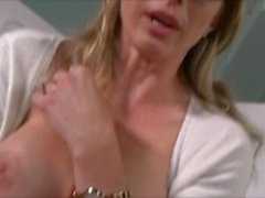 Blonde Milf Blackmailed Into Eating Ass & Fucking - Cory Chase Bad Sponsor