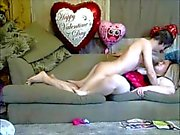 Horny MILF Wife get a suprise on Valentine's day
