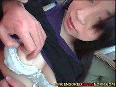 Uncensored porno giapponese stretta AV idolo figa dal Giappone