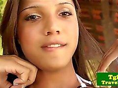 Бразильского tgirl Aninha Смит персональная
