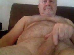 Grandpa тактный на вебкамеру