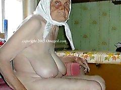 OmaGeil avós Peitudas e os mulher madura