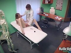 Belle Claire Hot Czech patient craves hard cock