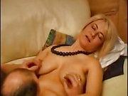 Blonde milf casting