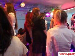 Femdom MILF submits strippers at sexparty