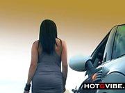 Брызги в автомобиле Перед подключением