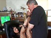He worships her feet & ass