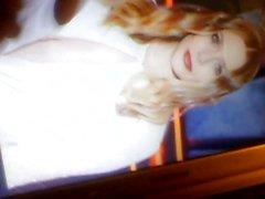 My Silent Ebony Cumshot Tribute for Elizabeth Olsen