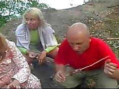 Real ryska knulla på stranden Costa Blanca