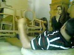 Arab amatööri tyttö