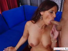 Redhead Mom Syren De Mer Touches Fat Cock