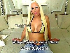 German Real Hooker Teen get fucked for Money