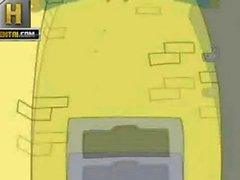 Family Guy Sezon Pornosu - Lois ile fuck WC