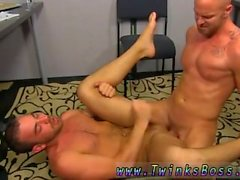 Twinks emo gay adolescentes tubo de sexo Muscle Top Mitch Vaughn Slams Parker Perry