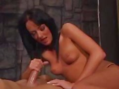 Melissa Lauren is a sexy brunette MILF that really know how to handle cock in all her holes
