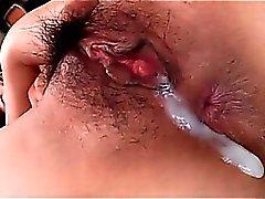 Cremita por el vagina Asiatica de primer con ninfomana descubierto atractivo