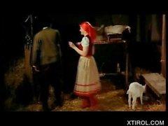 Fetten Schwanz Smashing Muschi auf Heidi Porn Video