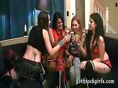 Lesbiano Goth Group Mierda