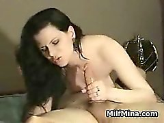 Hot housewife fucked on amateur video