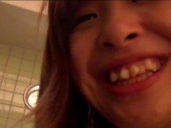 Adolescente japonesa bateu