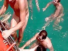 Russes baiser en vacances en Thaïlande