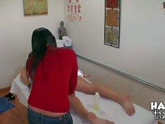 Asiatische Babe Massage Adrianna Luna
