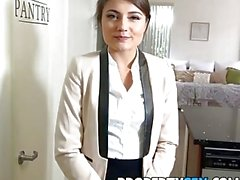 PropertySex - Ridiculously good looking real estate agent fucks her ex