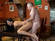 DADDY4K. Pretty chick wanted to experience old and...